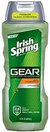 Irish Spring Gear Body Wash Hydrating 15 Fl. Ounce
