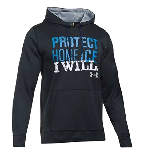 Under Armour Men's Hockey Protect Home Ice Hoodie, 1276976 (Black, M)