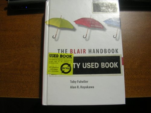 Blair Handbook & New American Webster College Dictionary Package (5th Edition)