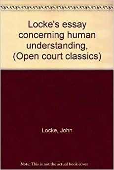 essay concerning human understanding locke amazon