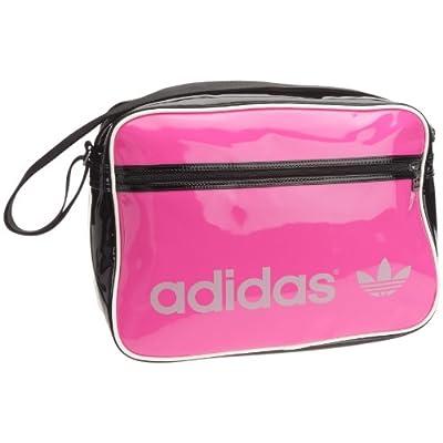 adidas Originals Ac Airline Pat, Sac messager femme Noir/rose, Cuir