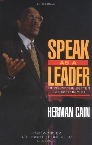 Speak as a Leader