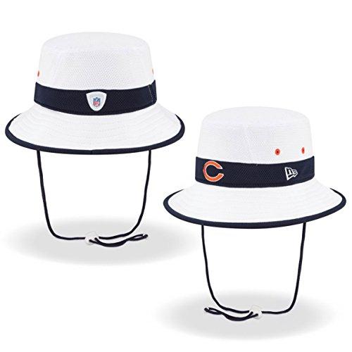 Chicago Bears New Era NFL 2015 Training Camp Sideline Bucket Hat - White (Chicago Bears Bucket Hat compare prices)