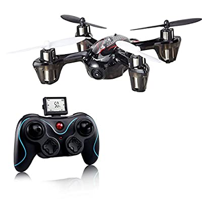 Holy Stone F180C Mini RC Quadcopter Drone with Camera 2.4GHz 6-Axis Gyro Bonus Battery and 8 Blades