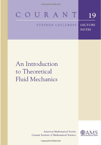 an introduction to theoretical fluid mechanics courant lecture