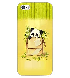 APPLE IPHONE 5S PANDA Back Cover by PRINTSWAG