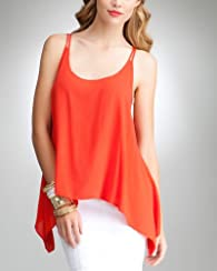 Hanky Hem Tank Top- bebe for 90210