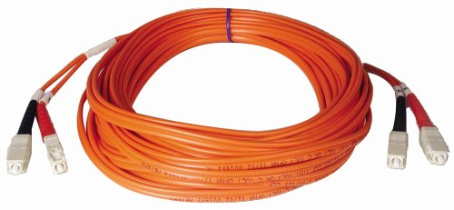 Tripp Lite Duplex Multimode 50/125 Fiber Patch Cable (Sc/Sc), 3M (10-Ft.)(N506-03M)