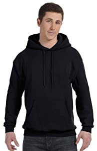 Hanes Comfortblend Pullover Hoodie Sweatshirt, L-Black