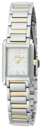 Citizen Women's Eco-Drive Two-Tone Stainless Steel Watch #EW9244-53A