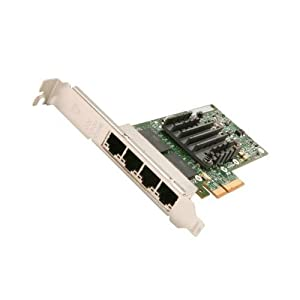 Intel E1G44HTBLK Networking Card Ethernet Server Adapter I340 Quad Port PCI Express Copper 1Gb OEM