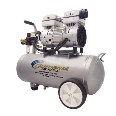 Cheap California Air Tools 6010LFC 1.0 HP Ultra Quiet and Oil-Free Industrial Air Compressor, 6.0-Ga...