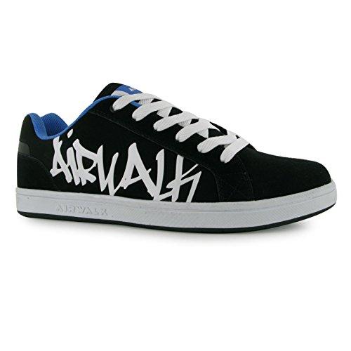 airwalk-neptune-skate-chaussures-pour-homme-noir-bleu-casual-formateurs-sneakers-noir-bleu