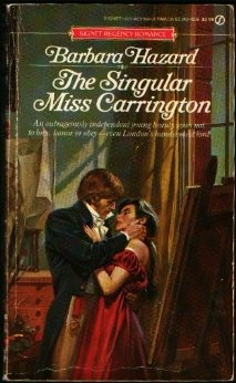 The Singular Miss Carrington (Signet Regency Romance), BARBARA HAZARD