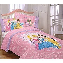 Disney Princess Bedding Twin Size Sheets Princess Loving Hearts Sheet Set