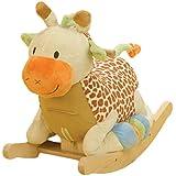 Rockabye Raffi Giraffe Rocker, One Size