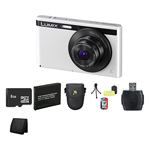Panasonic Lumix Dmc-Xs1 16.1 Mp Digital Camera (White) Bundle 1