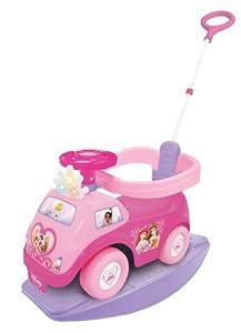 Disney Princess 4-in-1 Light n' Sound Activity Ride On by Kiddieland