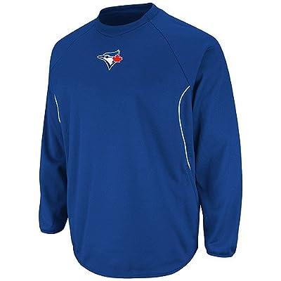 MLB Toronto Blue Jays Therma Base Tech Fleece, Royal/White