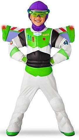 Disney Store Light Up Toy Story 3 Buzz Lightyear Costume for Boys Size Small 5/6