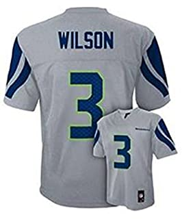 NFL Jerseys - youth seattle seahawks russell wilson pro line team color jersey