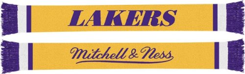 Los Angeles Lakers Vintage Team Premium Scarf at Amazon.com