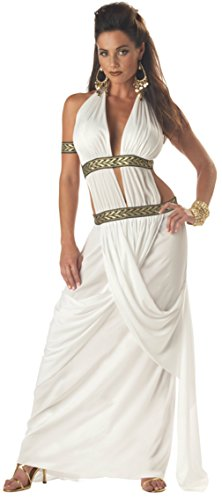 California Costumes Womens Historic Sexy Spartan Queen Fancy Halloween Dress
