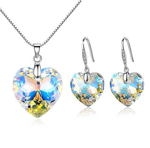 gosparking-aurora-borealis-cristallo-di-cristallo-del-cuore-sterling-sivler-earrings-pendant-set-con