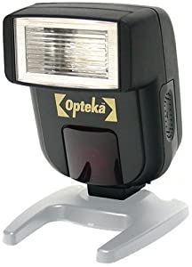 Opteka FL-50 AF TTL II Dedicated Flash for Nikon D800, D600, D7000, D5200, D5100, D3200 and D3100 Digital SLR Cameras