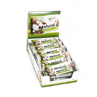 PROTEIN EIWEIß RIEGEL 100% Natur fur Muskelwachstum & Diät! 20x45g Sparkpaket✓ Sußigkeiten-Ersatz und Zwischenmahlzeit✓