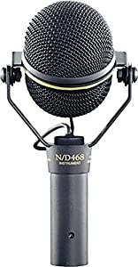 Electro-Voice N/D468 Supercardioid Dynamic Instrument Microphone by Electro Voice