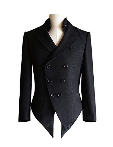 Exclusive-Steampunk-Wedding-Elegant-Gothic-Coattail-Tuxedo-Jacket-Coat