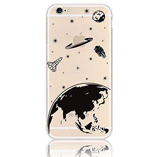 iPhone-66S-47-Case-Cover-Sunroyal-Antigraffio-Anti-Scratch-TPU-Gel-Silicone-Creative-logo-Custodia-Trasparente-Cristallo-Chiaro-Bumper-Soft-Morbido-Ultra-Slim-Skin-Protezione-Aeroplano