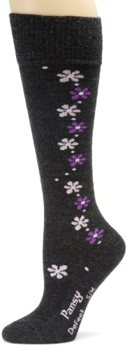 DeFeet Women's Pansy Wool Sock