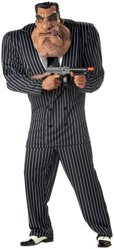 California Costumes Men's Adult-Massive Mobster Costume