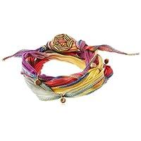 [ブロンウェン] bronwen Silk Ribbon Wrap 1001BNavajo Blend