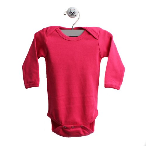 Pink Baby One Piece Long Sleeve Baby Body Suit