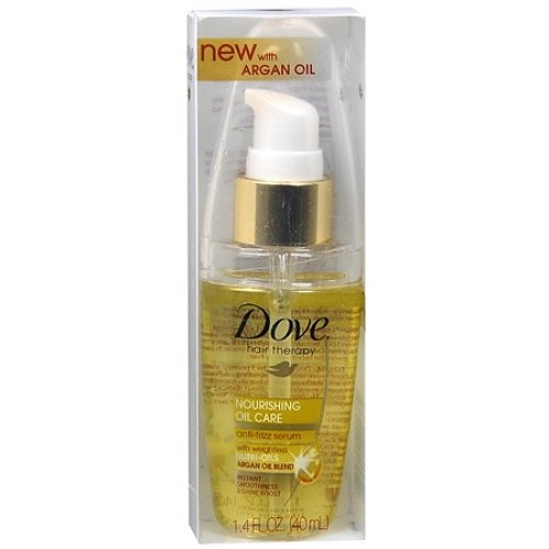 Dove Hair Therapy Nourishing Oil Care Anti-Frizz Serum 1.35 Fl Oz