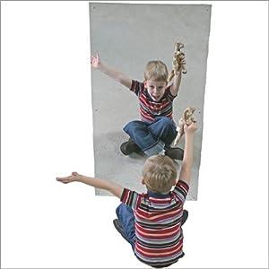 "Acrylic Wall Mirror Size: 24"" x 48"""