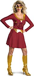 Iron Man Iron Woman Adult Costume Size 8-10 Medium