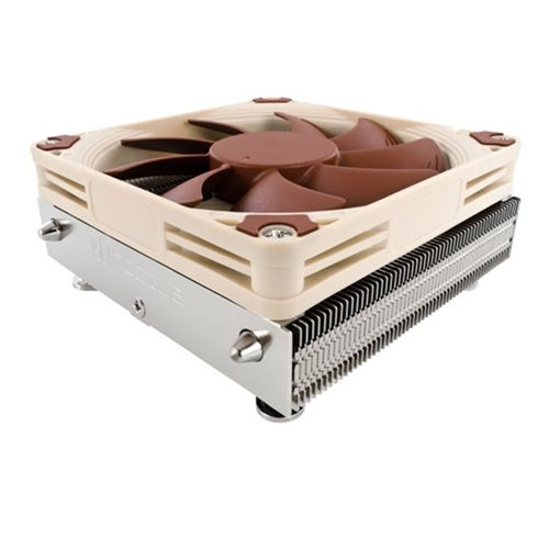 Noctua Low-Profile Quiet Cpu Cooler For Intel 115X Based Retail Cooling Nh-L9I front-536900