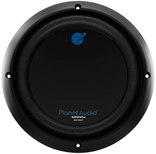 Planet Audio AC8D Anarchy8 inch DUAL Voice Coil (4 Ohm) 1200-watt Subwoofer (Coils Sub Ohm compare prices)
