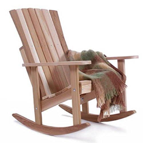 Cedar Porch Rocking Chair front-332413