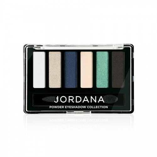 (6 Pack) JORDANA Made To Last Powder Eyeshadow Collection - What A Steel