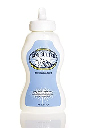 You'll Never Know It Isn't Boy Butter, Personal Lubricant