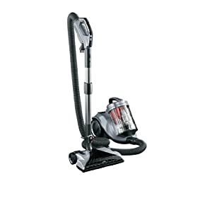 Hoover Platinum Cyclonic Canister Vacuum with Power Nozzle, Bagless, S3865