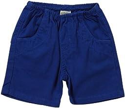 Charlie Rocket Twill Shorts (Baby) - Cobalt-3-6 Months