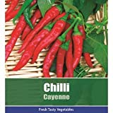 De Ree Chilli Cayenne Pepper Vegetable / Fruit Plant 95 Seeds Hot!