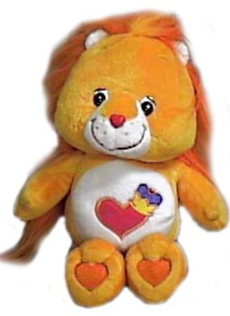 "Care Bear Cousins Plush 10"" Brave Heart Lion"