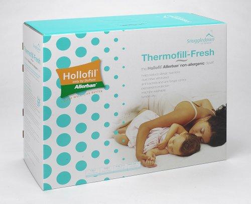 Thermofill Fresh Duvet 100% Cotton Cover Dupont Allerban Fibre Anti Allergy 13.5 Tog King 220X225Cm